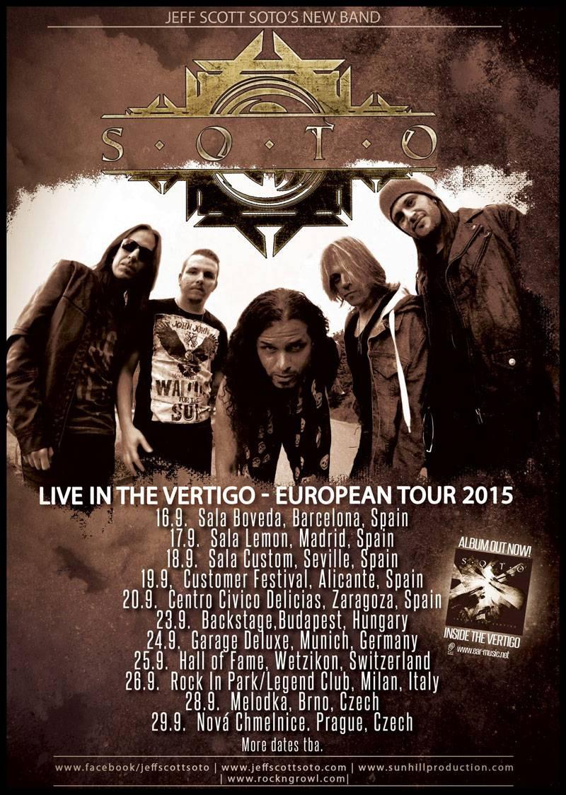 Soto EU Tour