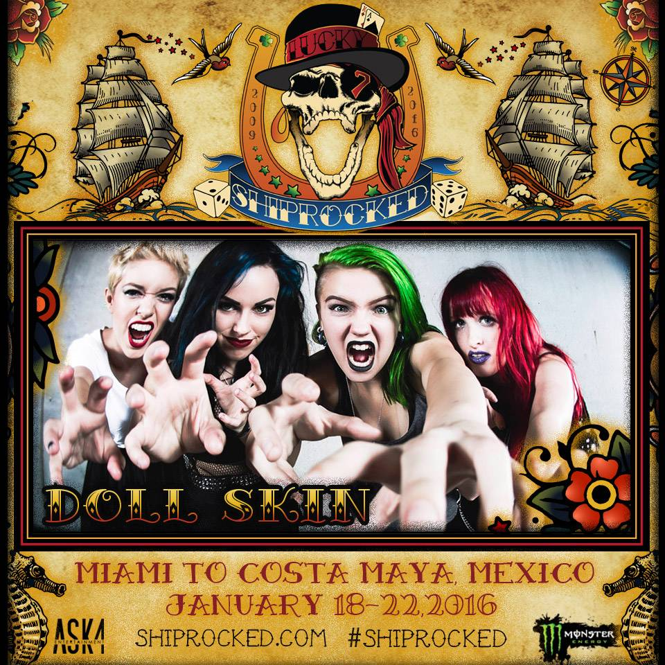 Doll Skin ShipRocked Cruise 2016