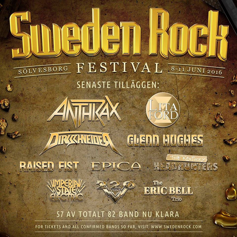 Eric Bell Sweden Rock Festival