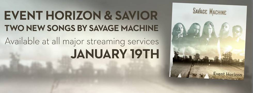 ROCK N GROWL - HARD N HEAVY METAL PROMOTION Savage Machine 'Event Horizon' Video