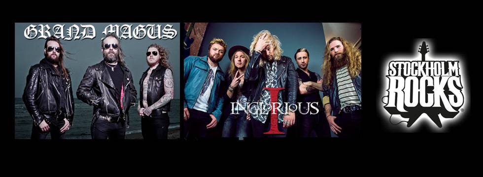 Inglorious Confirmed For Stockholm Rocks