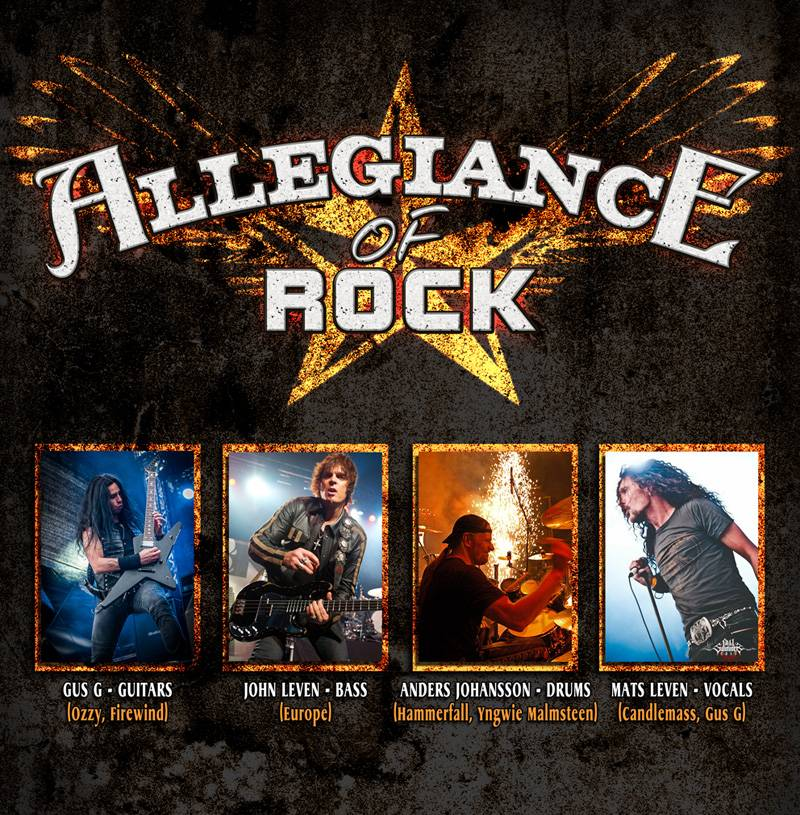 Allegiance Of Rock Sweden