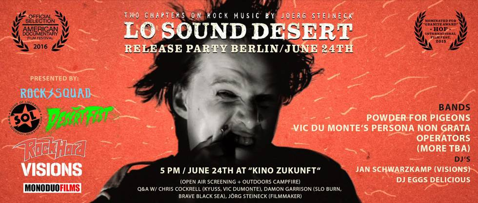 Lo Sound Desert Release Party Berlin