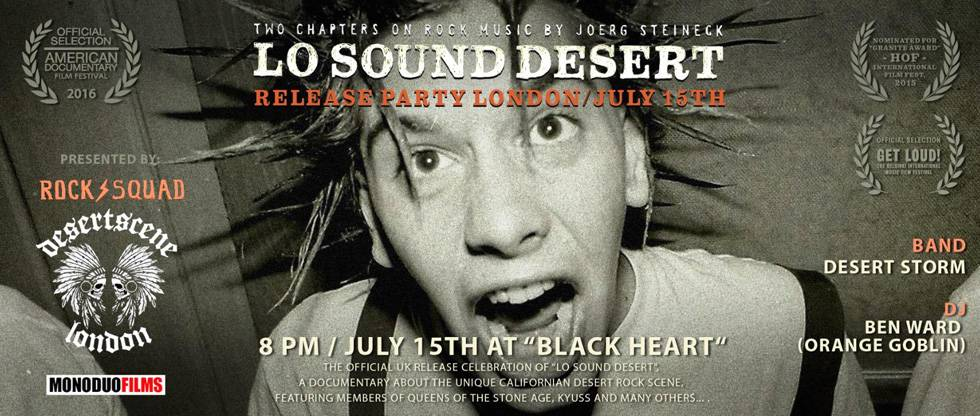 Lo Sound Desert Release Party London