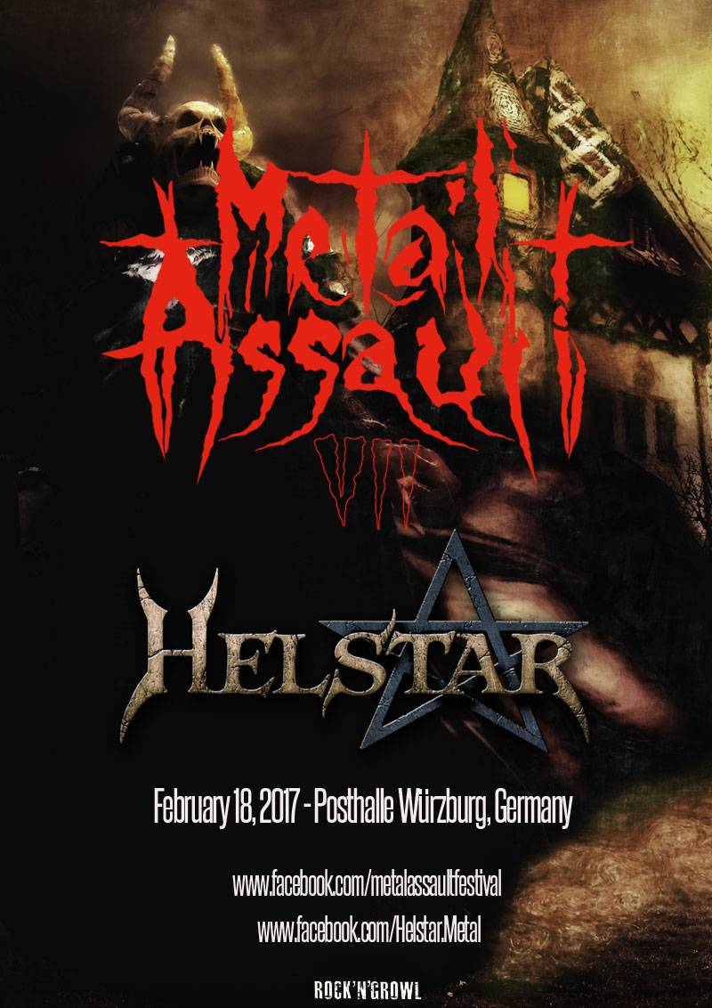 helstar metal assault VII festival