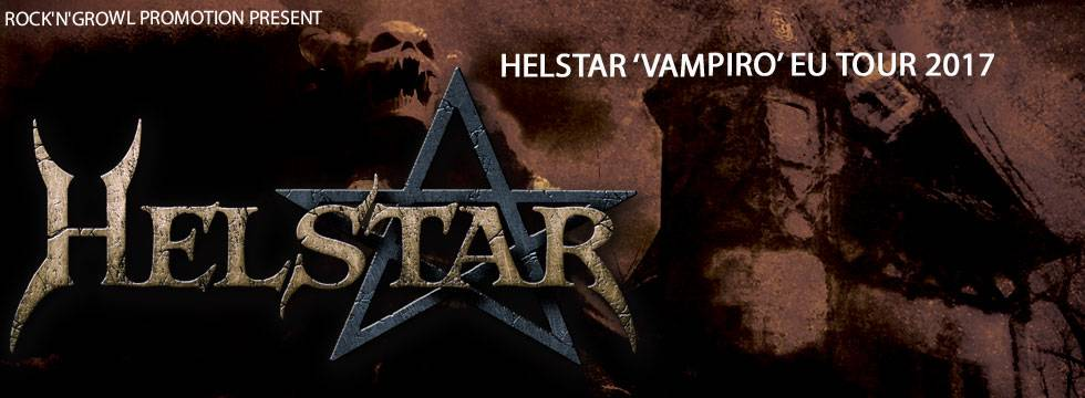 Helstar Announce 2017 European Tour