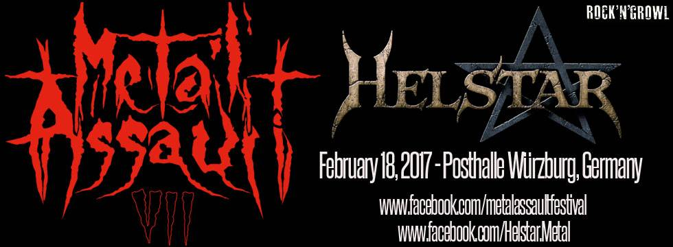 Helstar To Play Metal Assault VII Festival