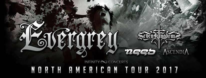 Need Evergrey North America Tour 2017