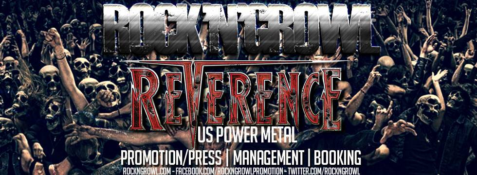 Reverence signs with Rock'N'Growl
