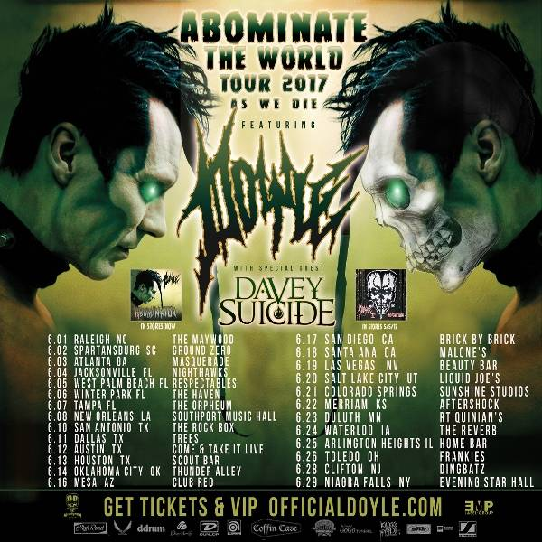 ROCK N GROWL - HARD N HEAVY METAL PROMOTION Doyle 'Run For Your Life' Video
