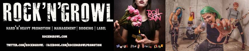 ROCK N GROWL - HARD N HEAVY METAL PROMOTION Showcase: Doll Skin - Manic Pixie Dream Girl