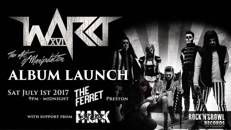 Ward XVI Album Launch
