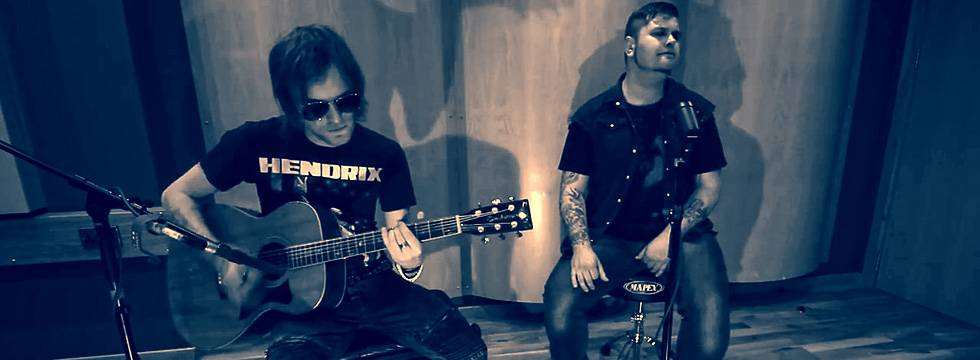 ROCK N GROWL - HARD N HEAVY METAL PROMOTION Jupiter Falls 'Call Me' Acoustic Live Video