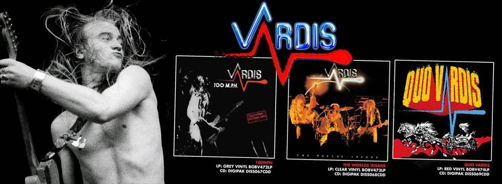 Vardis Classics ReMastered & Re-Released CD/Vinyl