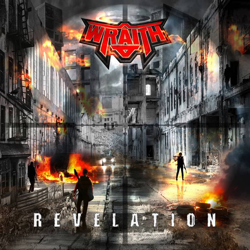 ROCK N GROWL - HARD N HEAVY METAL PROMOTION Wraith 'Revelation' Out In August