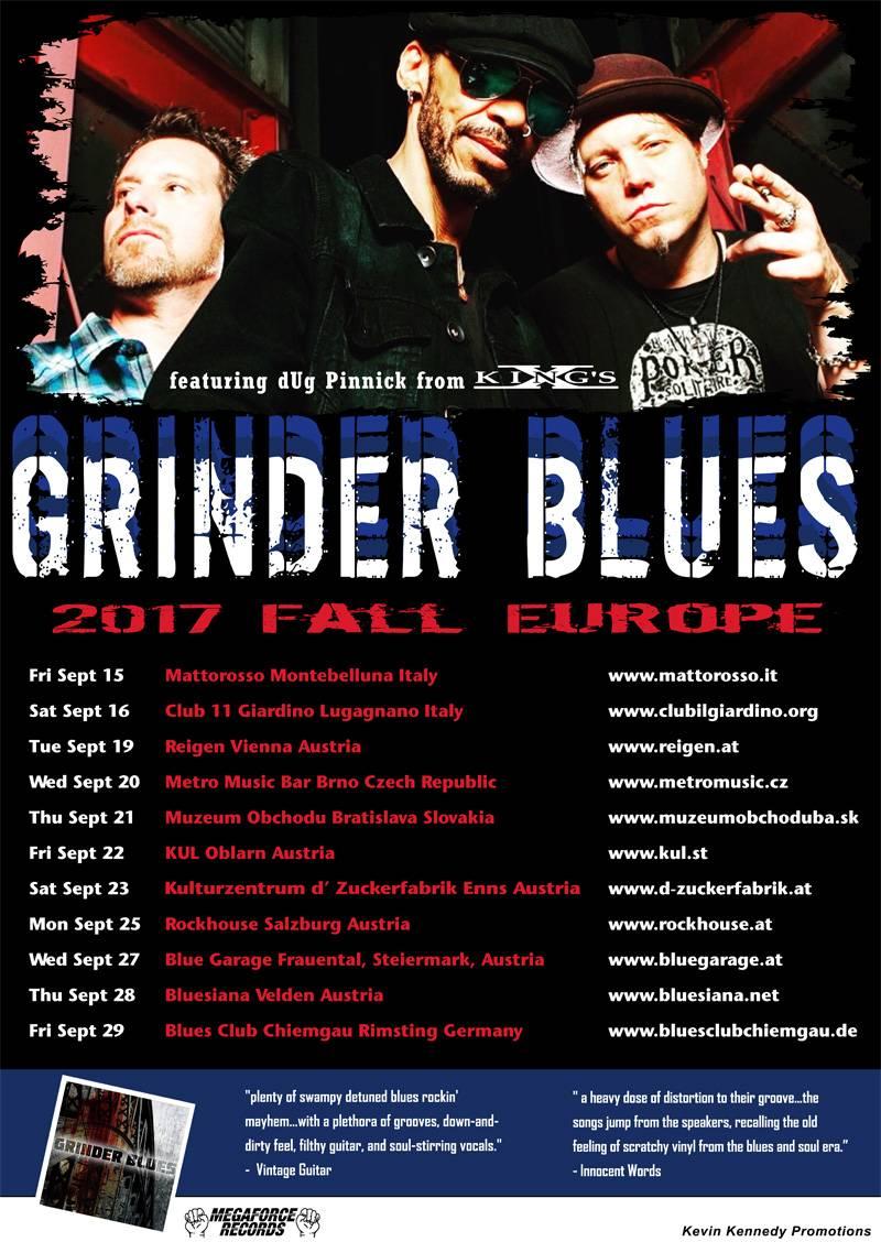 Grinder Blues European Tour