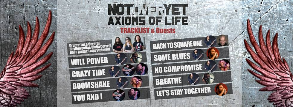 Not Over Yet 'Axioms Of Life' Album Release