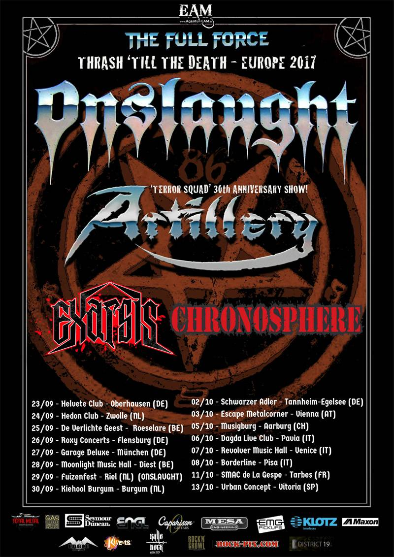 Onslaught EU Tour 2017