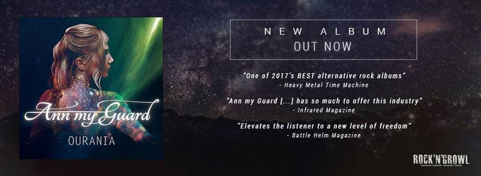 ROCK N GROWL - HARD N HEAVY METAL PROMOTION Ann My Guard Announce European Tour