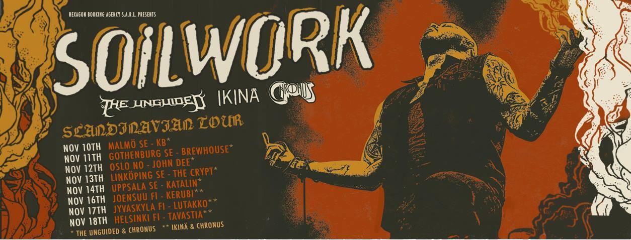 Soilwork Chronus Tour