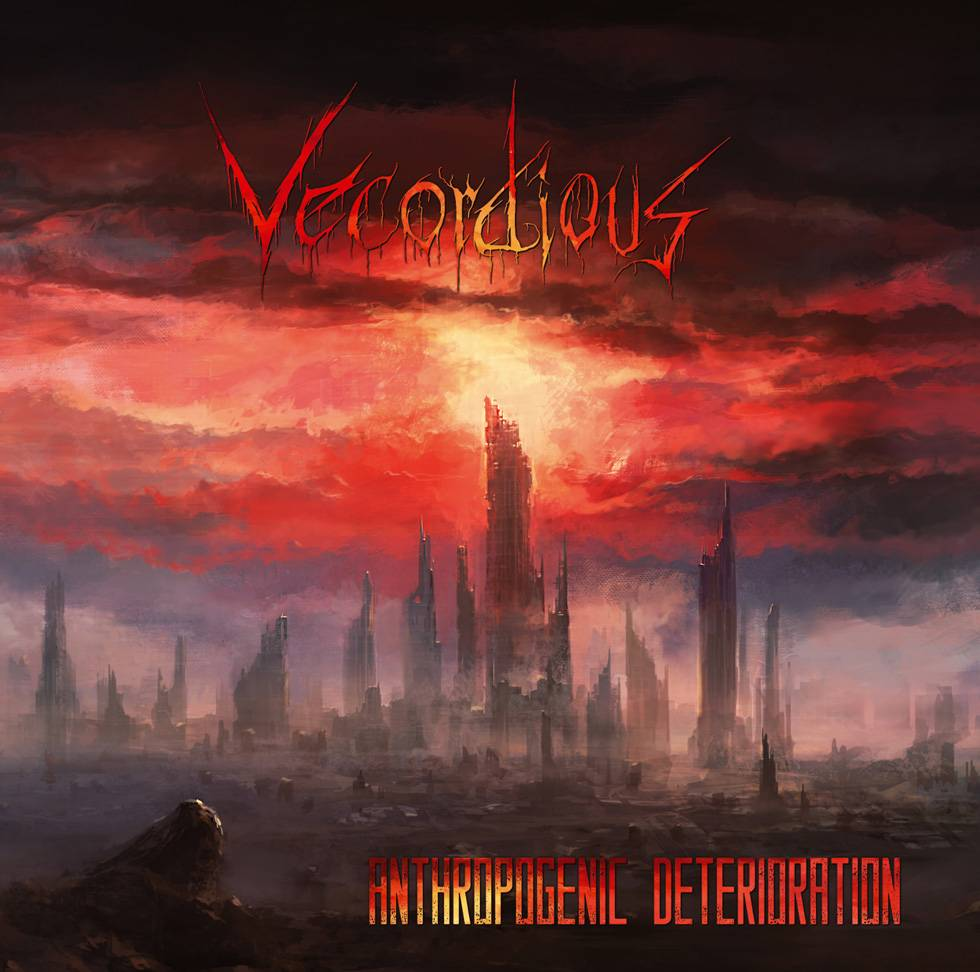 ROCK N GROWL - HARD N HEAVY METAL PROMOTION Vecordious 'Anthropogenic Deterioration' Album