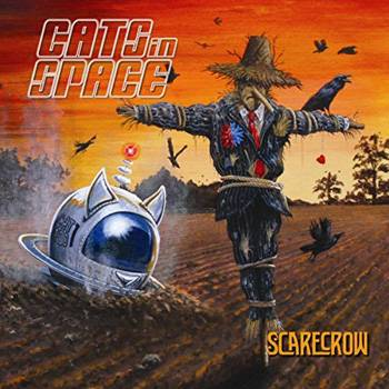 Cats In Space Scarecrow