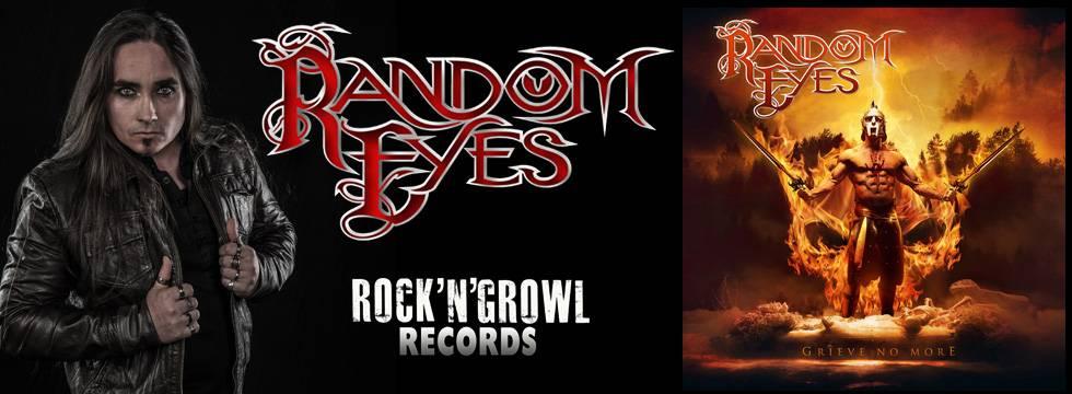 Random Eyes 'Grieve No More' Album