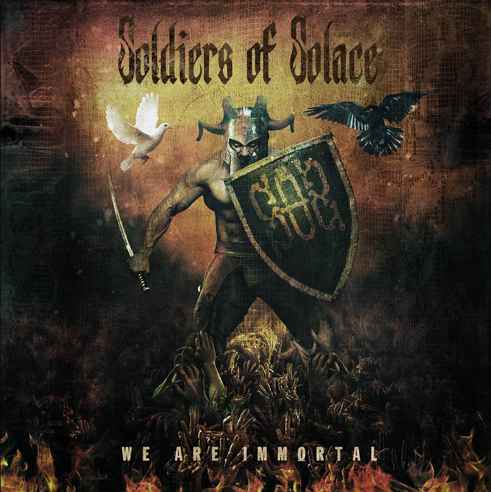 ROCK N GROWL - HARD N HEAVY METAL PROMOTION Soldiers Of Solace 'We Are Immortal' Album