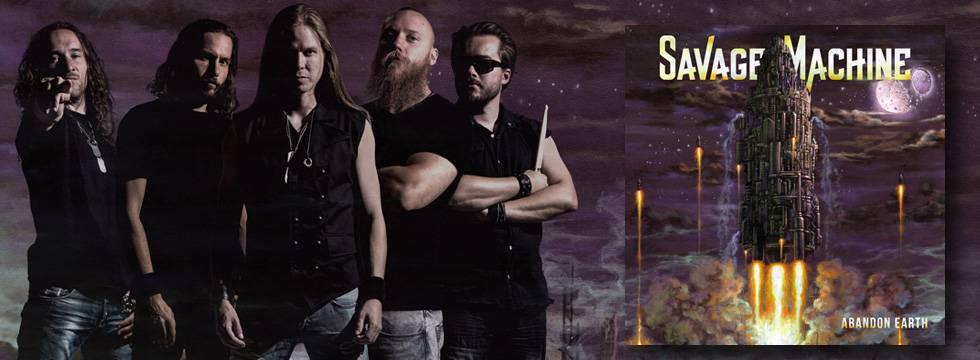 Savage Machine 'Abandon Earth' Album