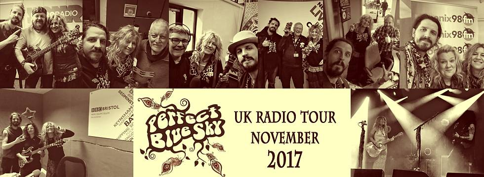 Perfect Blue Sky UK Radio Tour 2017