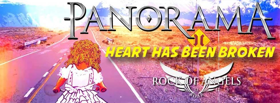 ROCK N GROWL - HARD N HEAVY METAL PROMOTION Panorama 'Heart Has Been Broken' Lyric Video