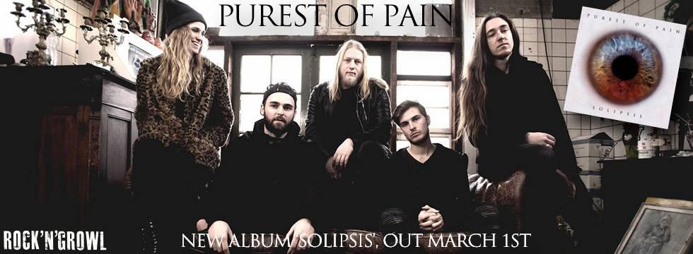 Purest Of Pain Reveal 'Solipsis' Album Details