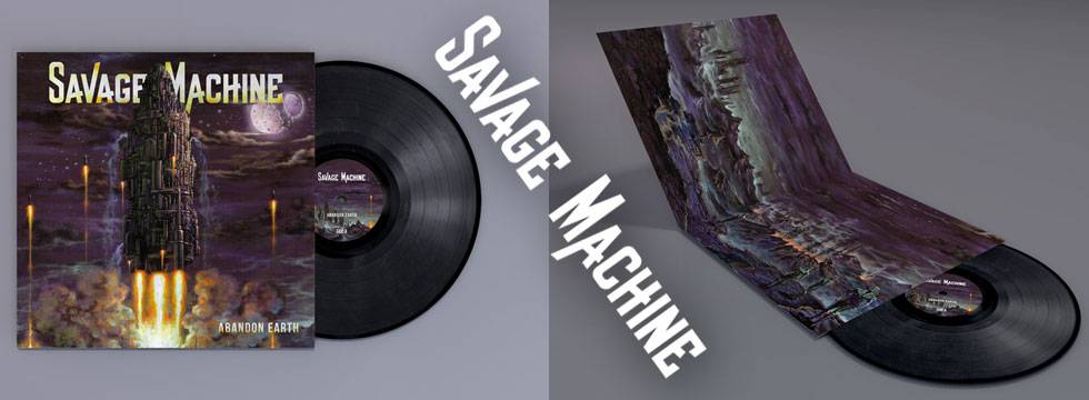 Savage Machine Vinyl