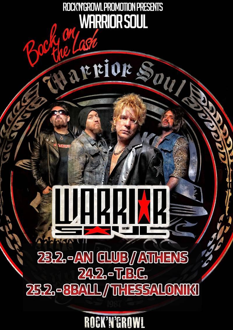 Warrior Soul Greece 2018