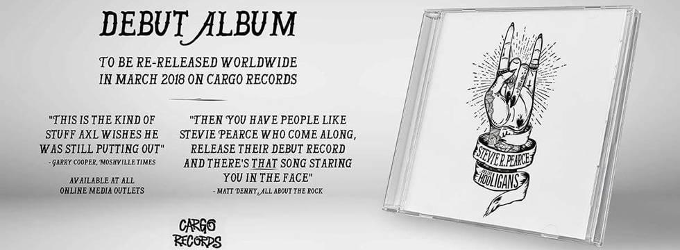 ROCK N GROWL - HARD N HEAVY METAL PROMOTION Stevie R. Pearce and the Hooligans Debut Album