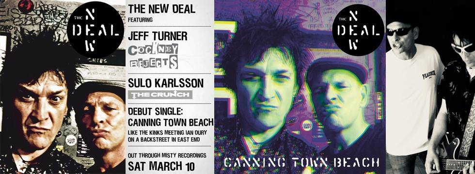 The New Deal 'Canning Town Beach' Single & Video