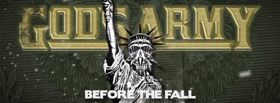 GOD'S ARMY Release 'Before The Fall' Lyric Video
