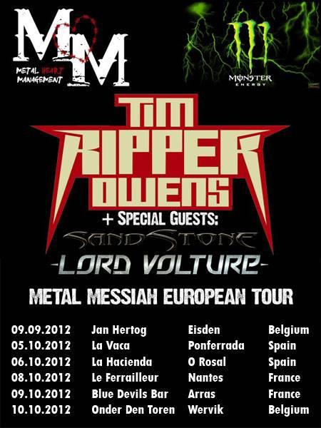Metal Messiah Tour