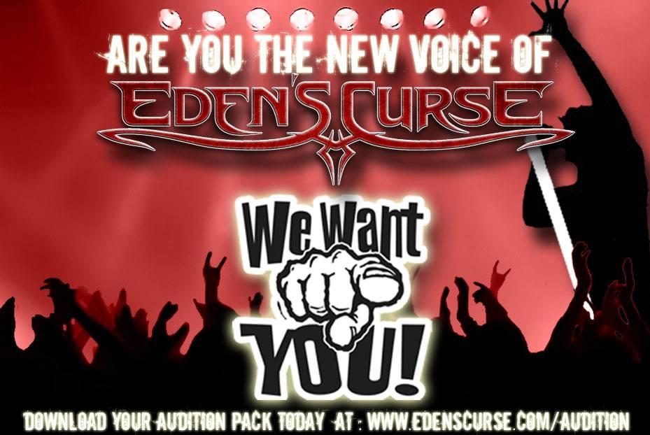 Eden's Curse Singer Audition