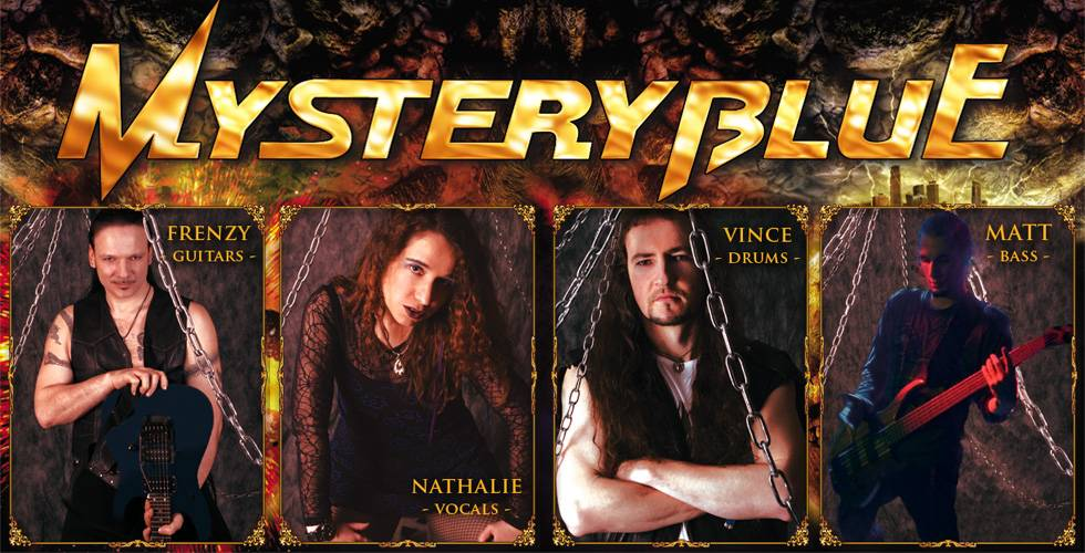 Mystery Blue - Heavy Metal Band