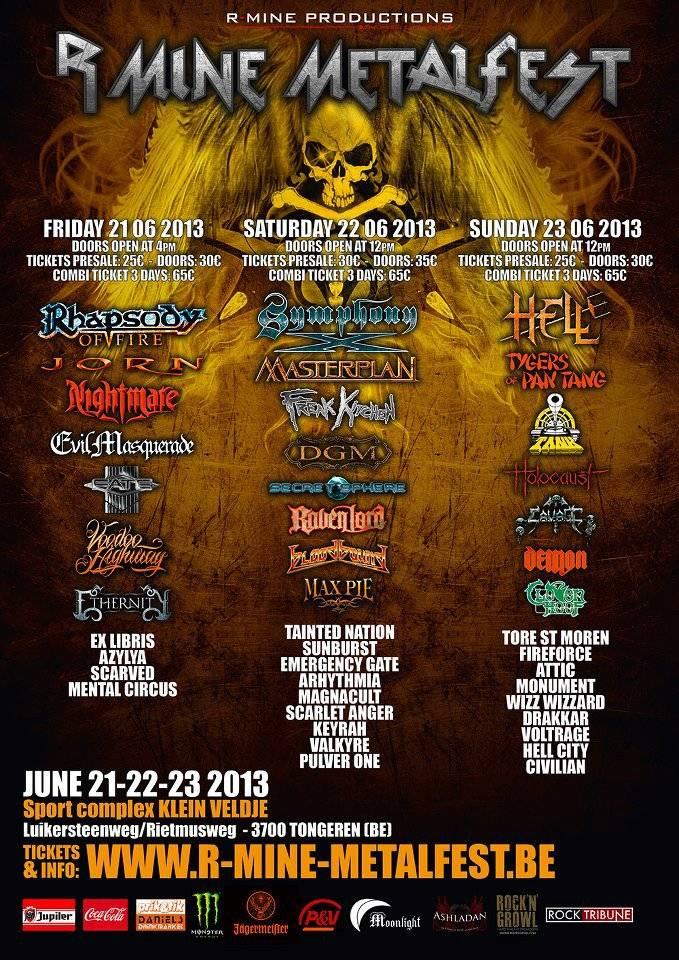 R-Mine Metalfest 2013