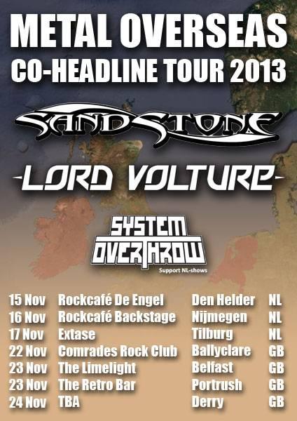Lord Volture Tour 2013