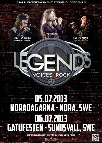 LEGENDS Voices of Rock