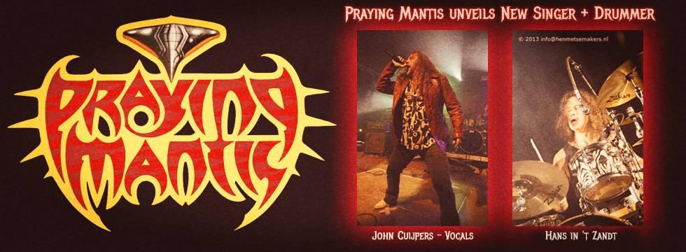Praying Mantis New Band