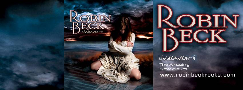 Robin Beck Underneath Banner