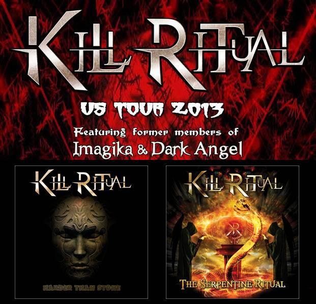 Kill Ritual US Tour 2013