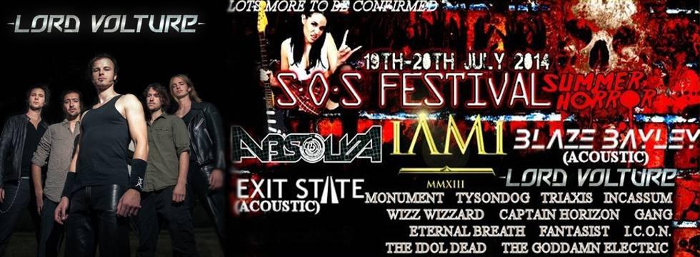 Lord Volture SOS Festival