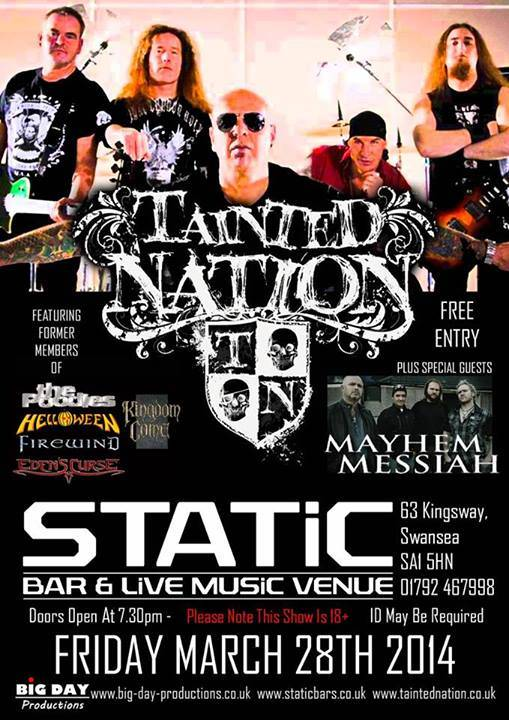 Tainted Nation Static