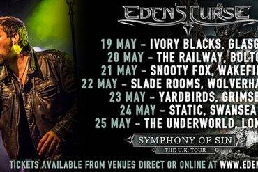 Eden's Curse UK Tour