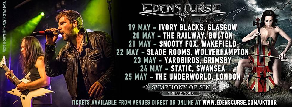 Eden's Curse UK Tour